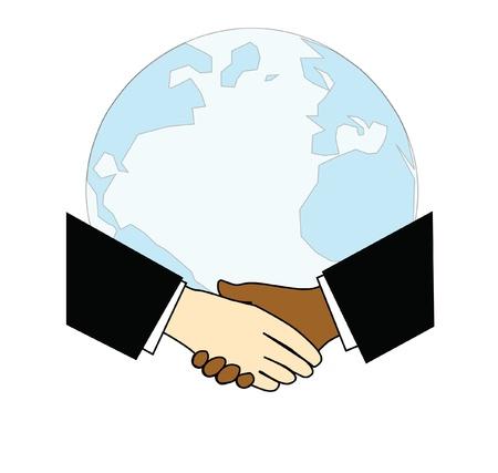 Handshake and World