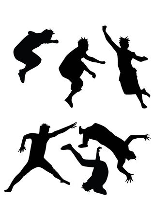 Jump Illustration