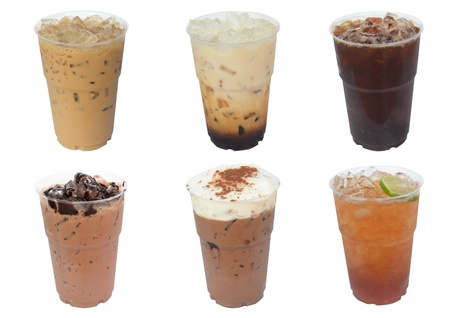 americano: Iced Drinks
