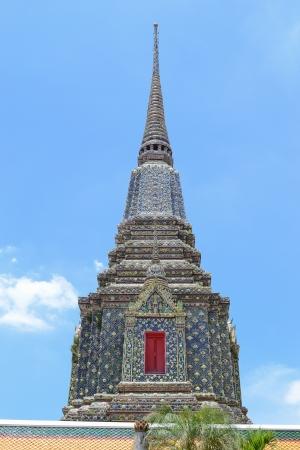 Chedi at Wat Pho in Bangkok,Thailand