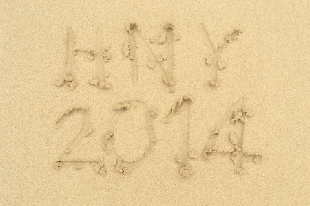 The Word Beach Written in the Sand on the Beach photo