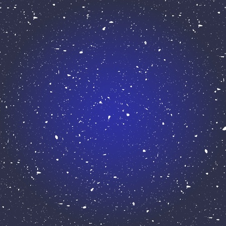 Illustration of cluster of star in the space background