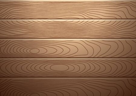 product display: Realistic brown wood plank background with spotlight over, for product display