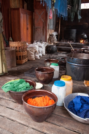 The way to dye clothes at home