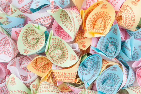 fake money: Colorful Assortment of Joss Paper