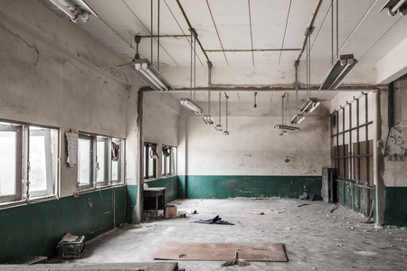 demolished: Room of factory is to be demolished