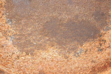 rusty: Rusty old zinc texture background