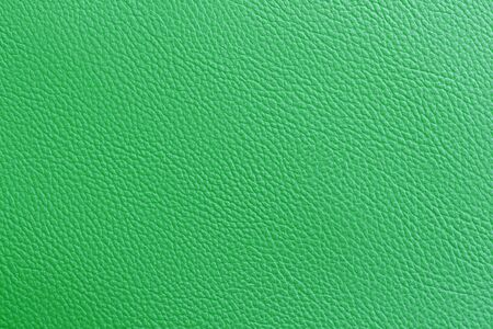 leatherette: Green leatherette texture as background