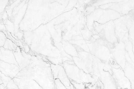 White marble texture background pattern Banco de Imagens