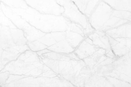 White marble pattern texture for background. Banco de Imagens