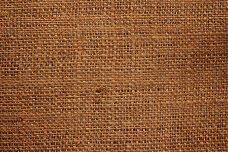 Old hemp sack texture background.