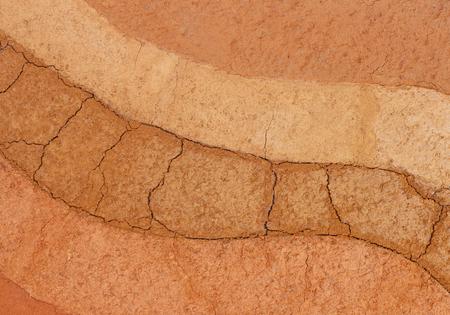 Layer of soil for background Archivio Fotografico