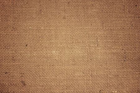 Abstract Brown nature sack texture background.