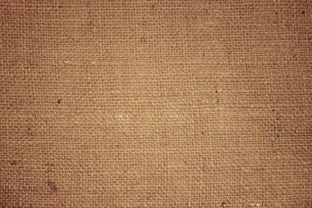 Fondo de textura de saco de naturaleza marrón abstracto.