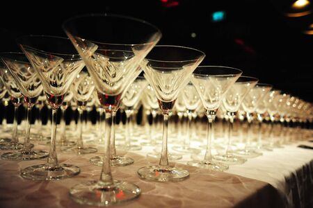 gala: Glasses Stock Photo