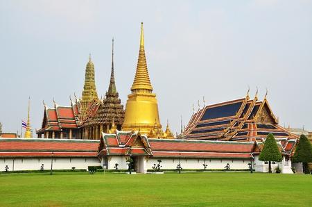 Landscape of  Wat Prageaw  The most exquisite landmark of Thialand