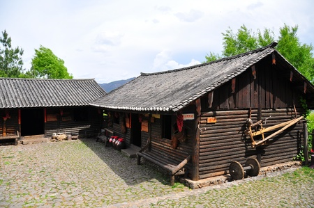 Chinese local traditional home in the local village