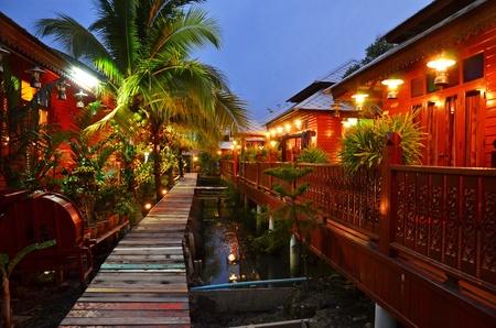Photo of Thai cultural home in Thai village
