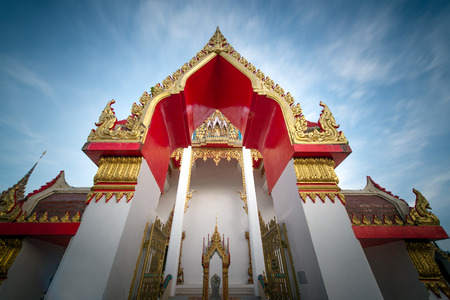 Chalong temple  in Phuket Thailand