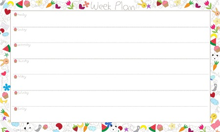Vector Weekly Plan