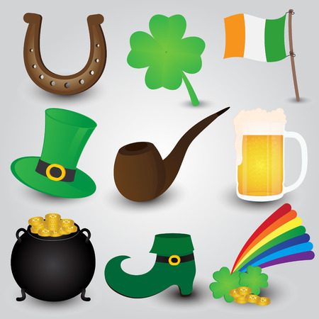 st  patrick's day: St  Patrick s Day Icons Collection