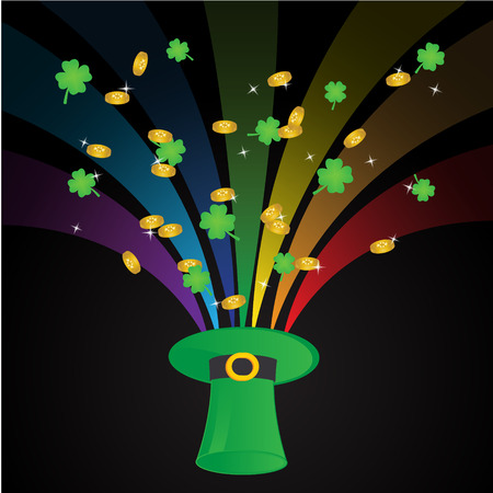 St  Patrick s Day Template Background Vector