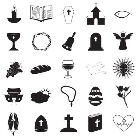 Cristiano Icons Collection Ilustración de vector
