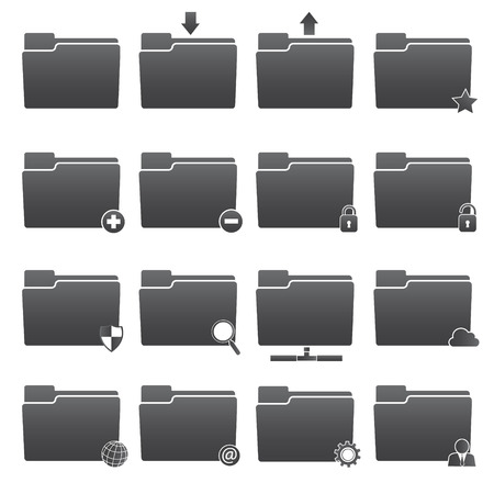 folder icons: Basic Folder Icons Set