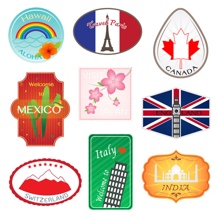 bigben: Travel Stickers Design Collection