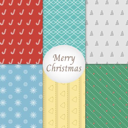 christmas pattern: Merry Christmas Pattern Background