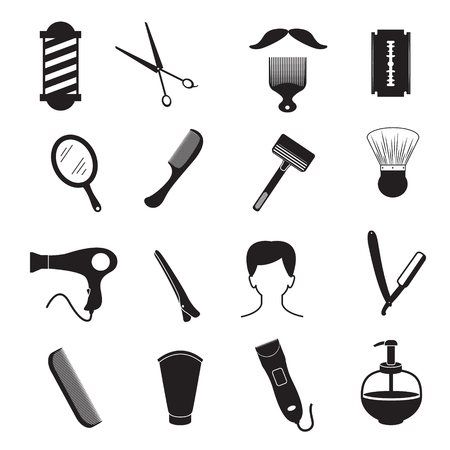 men hairstyle: Barber Tools and Men Hairstyle Equipments