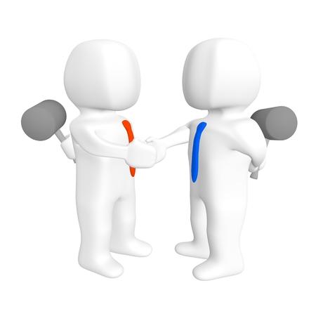 insincere: handshake dangerous