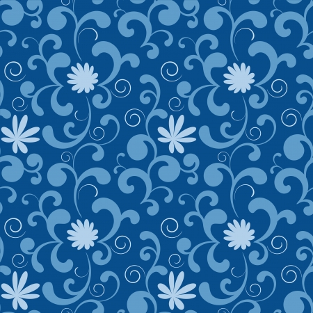 Abstract seamless texture with curl elements for background