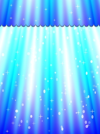 Beautiful abstract curtain background. Vector illustration. Eps10 Vector