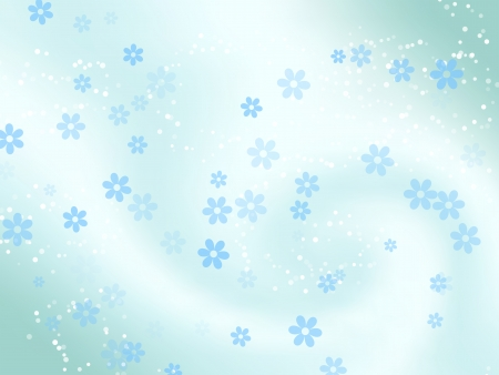 Beautiful blue abstract background.