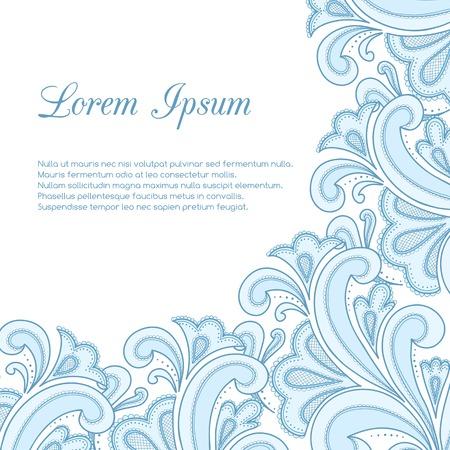 Vintage background for greeting card, invitation. Vector illustration Illustration
