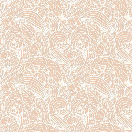 handdrawn: Seamless abstract hand-drawn texture