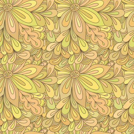 backdrop: Seamless abstract hand-drawn texture, backdrop. Illustration
