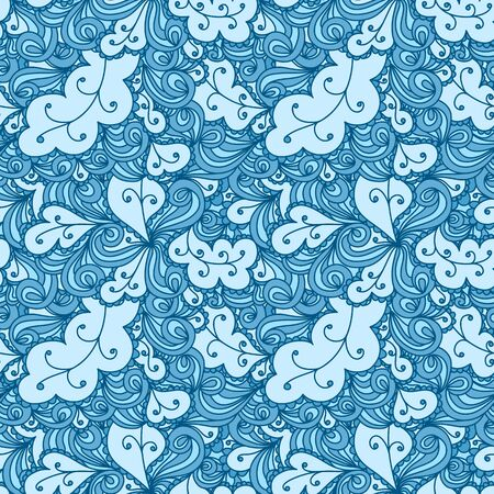 clots: Seamless abstract hand-drawn texture, backdrop. Seamless pattern can be used for wallpaper, pattern fills, web page background, surface textures. Detailed seamless background
