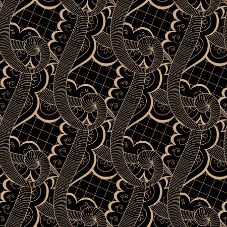 Seamless abstract hand-drawn texture can be used for wallpaper, pattern fills, web page background, surface textures. Vector