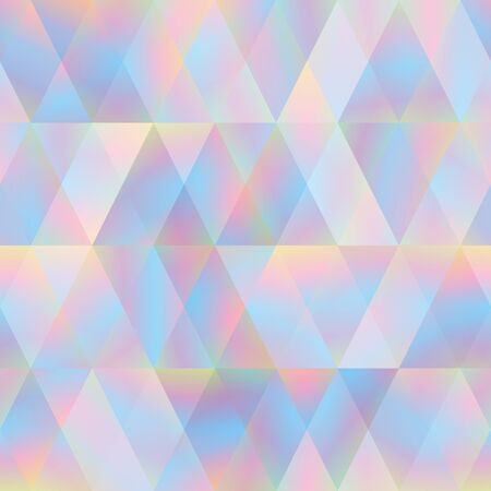 Abstract seamless geometric pattern with triangles. Vector illustration