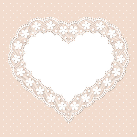 Retro Lace Background. Template For Wedding Invitation Or Greeting ...