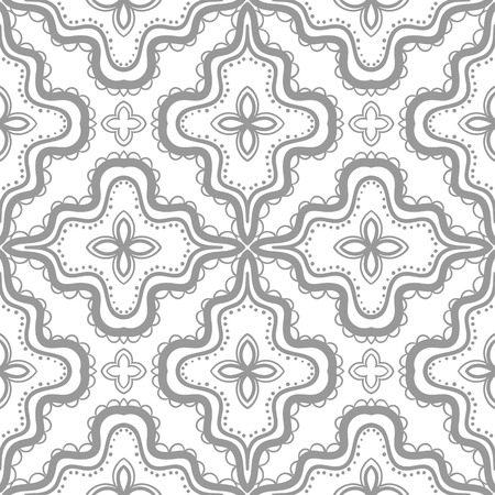 Abstract hand drawn seamless pattern. Vector Illustration
