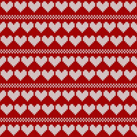 knitwear: Seamless jacquard knitting pattern. Knitwear texture. Vector Illustration