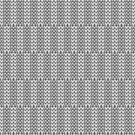 traditional pattern: Seamless knitting pattern. Knitwear texture. Vector Illustration