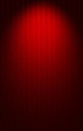 Red background gradient horizontal stripes Stock Photo