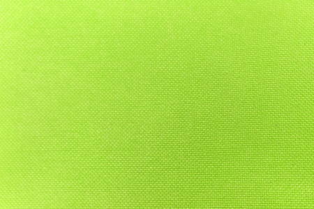 Texture of green nylon fabric for background