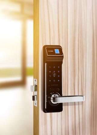 contemporary living room: Smart digital door lock security for Door access control