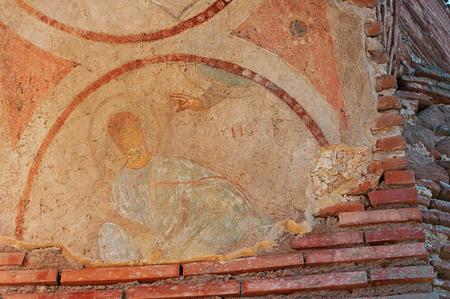 Fresco of God photo