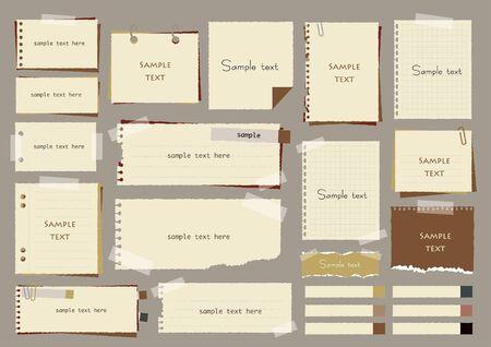 Retro Notepad Frame Set
